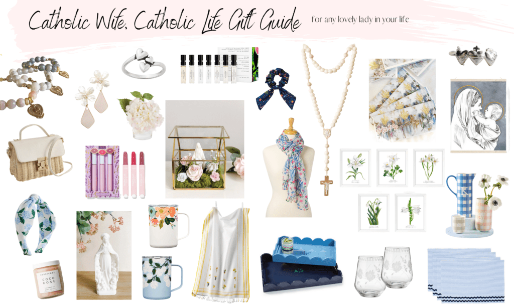 The Catholic Wife Gift Guide – For Any Lovely Lady